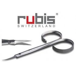 Nožnice na kožičku RUBIS, 9cm, špicaté
